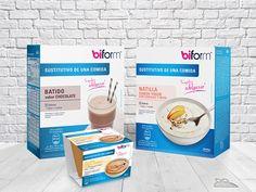 Biform sustitutivo #natillas #batido #desserts #healthy #diet