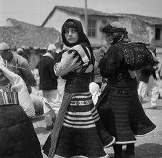 Albanian Women in native dress