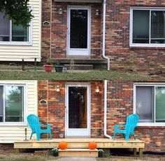 Turned my ugly concrete front porch into a deck! (#QuickCrafter)