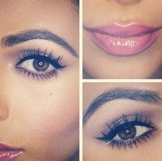 Pretty pink lip