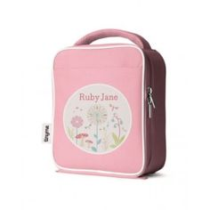 Personalized Lunch Bag (Pink)