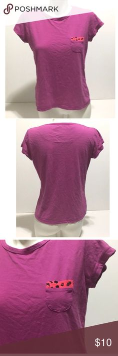 Croft & Barrow Intimates Sleep Shirt Purple Small Croft and Barrow Intimates Womens Top Short Sleeve Purple Pocket size Small  Length, Shoulder to Bottom: 22 1/2 inches Armpit to Armpit: 17 1/2 inches  Inventory# AV3 croft & barrow Intimates & Sleepwear Pajamas