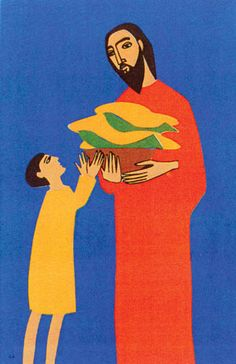 Loaves and Fish: A Craft and Prayer Activity   Eucharistic Generosity  by Jeanne Heiberg