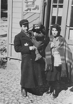 Portrait of a Jewish family in the Lodz ghetto. They were sadly all gassed to death