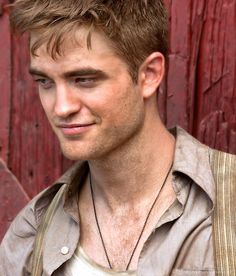 Rob as Jacob Jankowski in Water for Elelphants