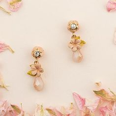 🌱🌸 Hello Spring Cherry Blossom 🌸🌱 Hello Spring, True Beauty, Cherry Blossom, Belly Button Rings, Stud Earrings, Hand Painted, Jewellery, Inspiration, Instagram