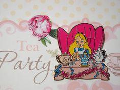 Alice in Wonderland  Mad Tea Party Disney Pin