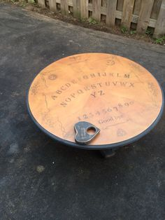 Diy Ouija Coffee Table Find Ouija Board Design Save To A Flash - Ouija coffee table