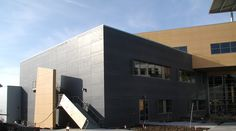 SlateScape Xtreme (now Cembonit) fiber cement boards used on a rainscreen system.