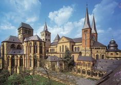Trier, Rheinland-Pfalz, Germany. Roman Monuments, Cathedral of St Peter and Church of Our Lady in Trier.