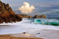 Rocky Shore, Cornwall, England Any beach, anywhere Beautiful World, Beautiful Places, Amazing Places, Wonderful Places, Beautiful Pictures, Aqua, Rocky Shore, Cornwall England, West Cornwall