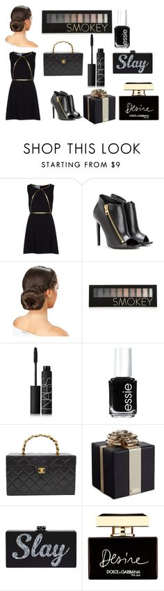 """fashion"" by fashionpolicecimrn80 on Polyvore featuring Prada, Tom Ford, Forever 21, NARS Cosmetics, Essie, Chanel, Kate Spade and Dolce&Gabbana"