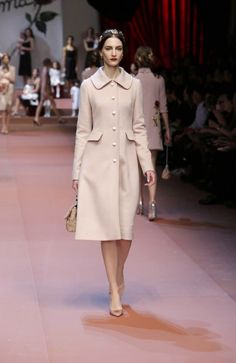 Dolce & Gabbana Fall 2015: Motherly Dress, Eternal Style