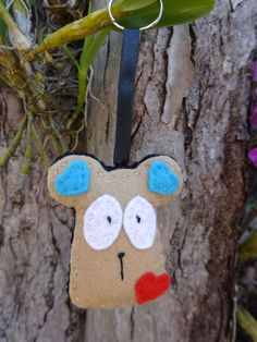 Chaveiro de feltro - Rato - animais