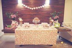 Resultado de imagem para cha de cozinha rosa e verde