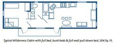 Disney's Fort Wilderness Resort and Campgound | Walt Disney World Room layout