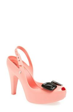 These are a convo-> Melissa + Karl Lagerfeld 'Ultragirl' Platform Pump (Women) available at #Nordstrom