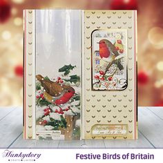 Festive Birds of Britain - Hunkydory | Hunkydory Crafts