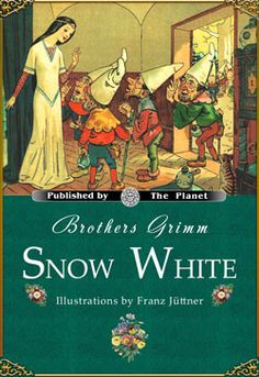 """This novel is titled: """"Brothers Grimm: Snow White"""". Illustrations by Franz Juttner. This is considered to be the most famous novel of Snow White out of all the other ones. It is the Brothers Grimm version of the well-known fairy tale. The story starts out pretty much like the movie version that the Brothers Grimm created. The despises Snow White and sets out to kill her. Snow White seeks shelter from seven dwarfs while escaping from the Queen."""