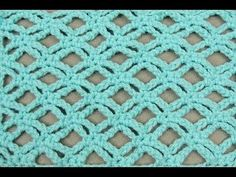 Crochet : Punto Fantasia # 7 (Margaritas) - YouTube