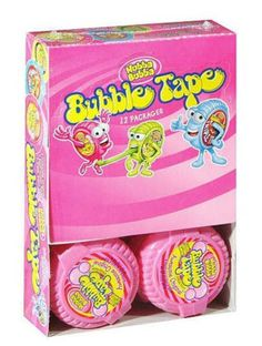 Bubble Gum Tape pack ) Assorted Flavors Hubba Bubba Bubble Tape by Wrigley's Chewing Gum Facts, Chewing Gum Brands, Little Girl Makeup Kit, Movie Night Gift Basket, Minnie Mouse Cookies, Frozen Toys, Sugar Free Gum, Big Bubbles, Baby Bouncer
