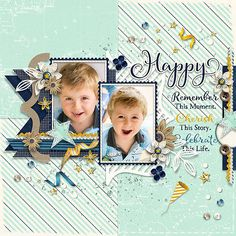 Layout by Conny using Happy For You   Collection