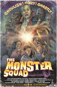 The Monster Squad by WacomZombie OMG I loved this movie, totally forgot all about it til now!!