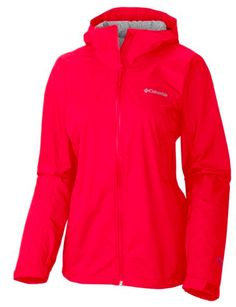 e353e62ef8d6 This award-winning women s rain jacket features a rich woven fabric and  clean