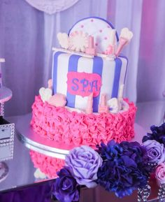 Spa and Tea Birthday Party Ideas | Photo 4 of 44