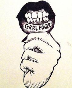 Grrl power.
