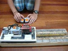 DIY Model Maglev with 3-Phase Linear Motor - YouTube