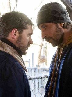 Tom Hardy and Matthias Schoenaerts from The Drop..two of the hottest together...