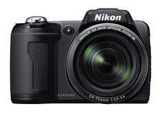 Digital Camera Nikon Coolpix L110 12.1 MegaPixel 15 X Optical Zoom Black