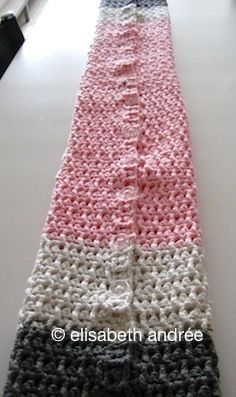 Scarf-Buttons-Sleeves...Just Love This!! Alot of Free Patterns!