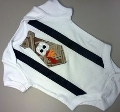 Boy Thanksgiving Turkey Tie and Suspenders Onesie or Shirt, long sleeve available on Etsy, $22.00