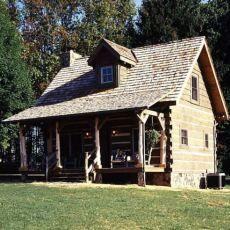 log cabin designs  great porch
