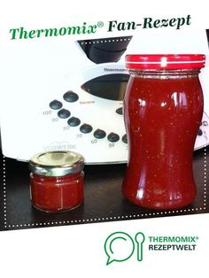 Erdbeermarmelade cremig ohne Stücke auf die Schnelle von Smicky. Ein Thermomix ® Rezept aus der Kategorie Saucen/Dips/Brotaufstriche auf www.rezeptwelt.de, der Thermomix ® Community.