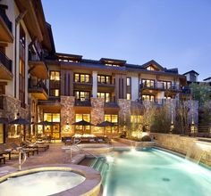 The Sebastian in Vail Colorado ~ Celebrating 50 years of skiing in Vail with free lift tickets
