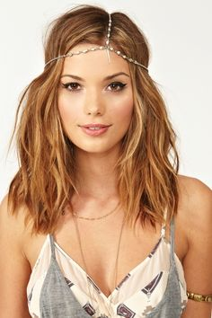 The Cage Headpiece - yup I wanna give this a try for the days I wanna wear hippy clothes