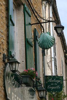 Auberge de la Coquille, Vézelay,