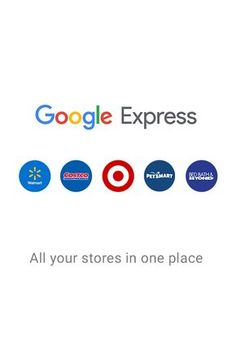 When you can't go yourself, get it with Google Express. All your stores in one place, with options for free delivery.