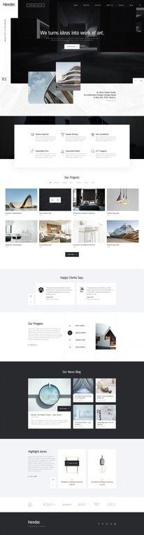 Saved by Gustav Sandstedt on Designspiration. Discover more Design Web Hender Architecture Interior inspiration.