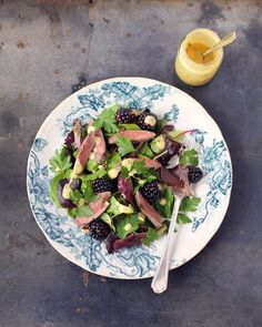 Pigeon & Hedgerow Salad
