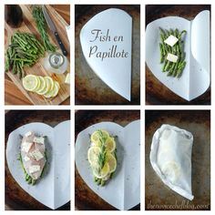 Fish en Papillote, How To, Step by Step