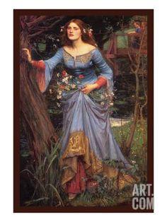 Ophelia Art Print by John William Waterhouse at Art.com