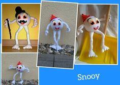 Häkelanleitung - Snooy der verrückte Schneeball