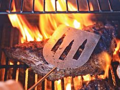 Open your Beer while you Grill! Bottle Breacher BBQ Tools are the perfect summer accessory!