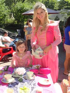 www.APartyPalace.com  Princess Tea Party with Sleeping Beauty