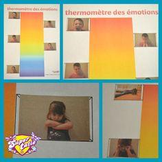 Le thermomètre des émotions en photo Photos, Polaroid Film, Frame, Teaching Tools, Note Cards, Coloring Pages, Picture Frame, Pictures, Frames