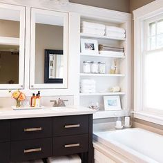 Shelving over Bathtub